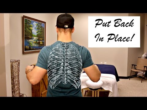 Rib Out - How to Pop Back In Place Yourself!