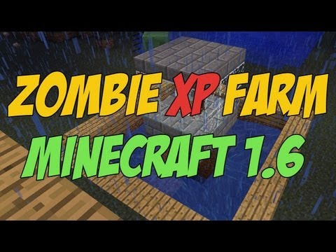 Zombie XP Farm For Minecraft 1.6.4 - Tutorial - Cheap, Fast and Easy To Make