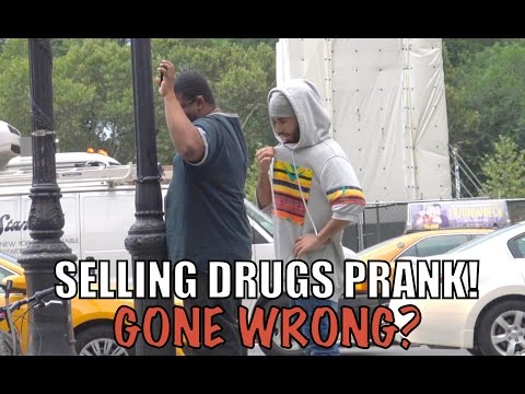 SELLING DRUGS PRANK! GONE WRONG?