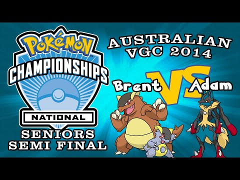 Australia Pokemon VGC Nationals Seniors Semi-Final 1 - Brent(aguy) vs Adam