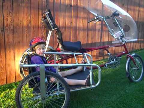 Bed Frame Bike - Recycled Walker Sidecar - Missoula Build Your Own Recycled Bike Group