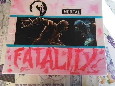 DIY - How to make a Mortal Kombat X themed gift box
