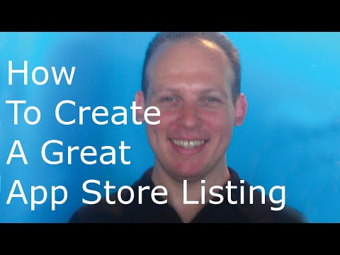 How to create a great mobile app store (Google Play or Apple) listing or product landing page