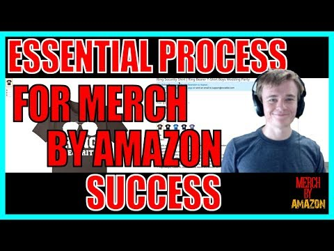 Merch by Amazon Keywords - How To Find Your Top Keywords In As Little As 15 Minutes