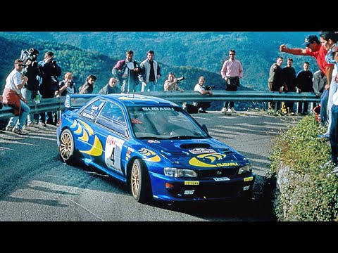 Best of Subaru Impreza WRC97-2000 tarmac action - with pure engine sounds