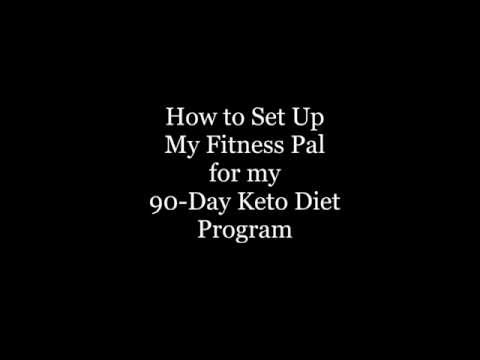 How to Set up My Fitness Pal for a Ketogenic Diet