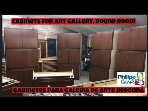 Art Gallery round room /Galeria de Arte redonda part 1