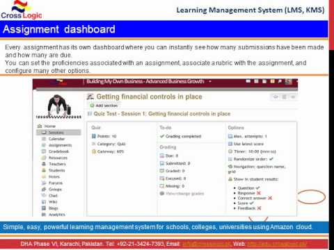 CrossLogic Learning Management System