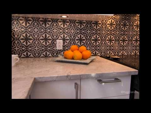 Cement Tile Backsplash