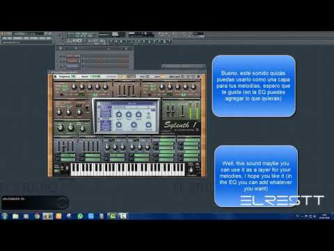 FLSTUDIO/ HOW TO MAKE A ORGAN IN SYLENTH ONE ( Layer)