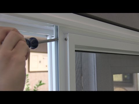 Adjusting the Rollers on Your Anlin Sliding Patio Screen Door