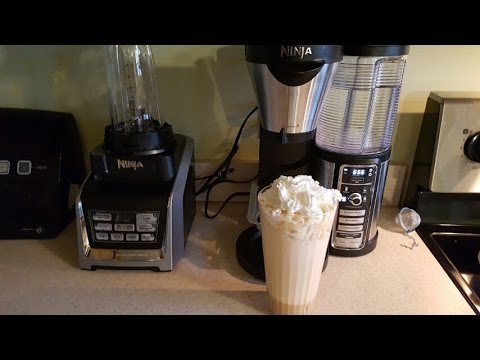 NINJA COFFEE BAR CARAMEL FRAPPUCCINO STARBUCKS STYLE