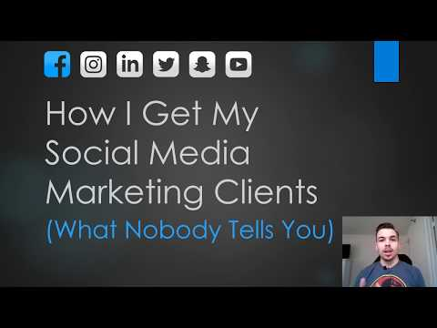 How I get my SMM Clients (What Nobody Tells You)
