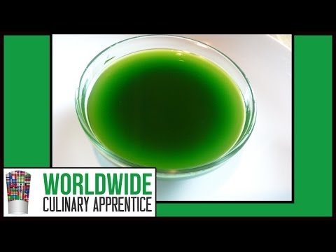 How to Make Basil Oil - How to Make Flavored Oil - Infused Oil - Cooking Classes