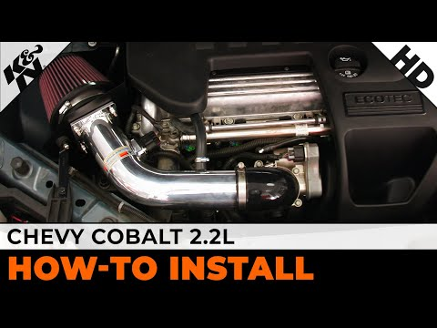 2005 - 2010 Chevrolet (Chevy) Cobalt 2.2L Air Intake Installation