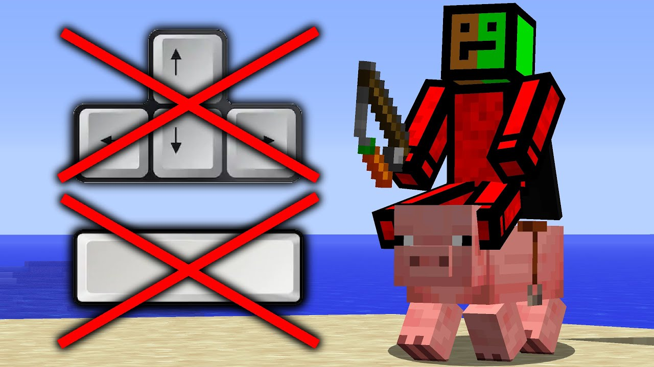 Minecraft, But You Can't Walk Or Jump...