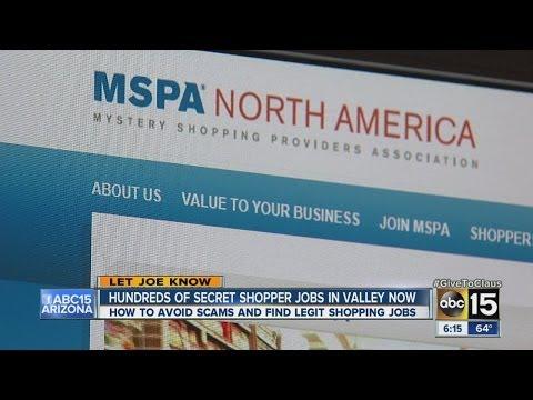 How to find legitimate secret shopper jobs now