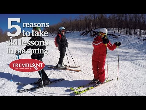 5 reasons to take ski lessons in the Spring