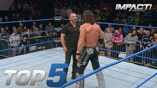 Top 5 Must See Moments From IMPACT For February 22 2018 IMPACT Highlights Feb 22 2018
