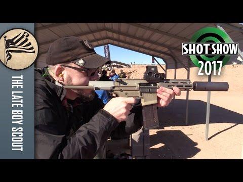 Q Honey Badger in .300 Blackout: SHOT Show 2017 Range Day