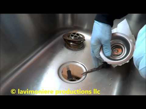 kitchen sink drain leaking at basket strainer