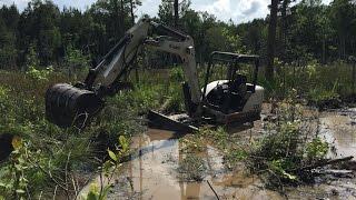 Excavator Stuck In Mud Videos - 9tube tv