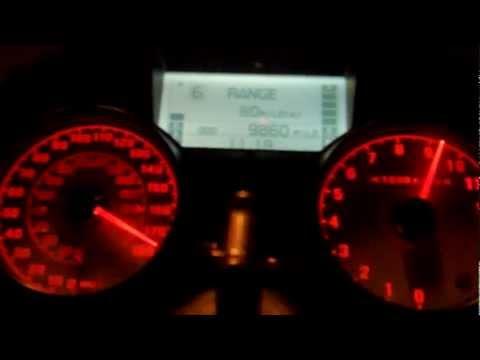 ninja zx14 acceleration to top speed