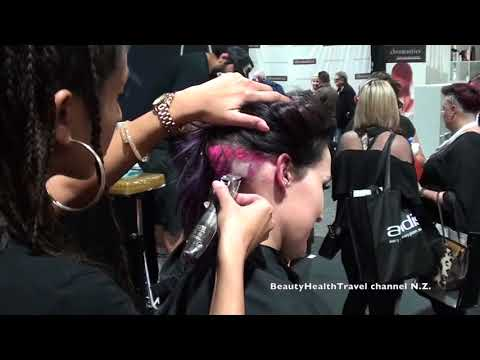 Making a Square with Clippers on Hair