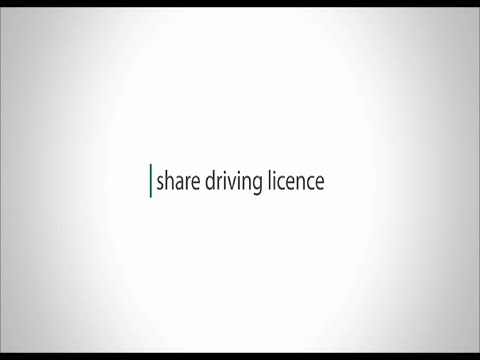 How to use the new share a driving licence service
