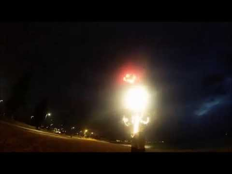 Marriage Proposal Fireworks Display 13012015 || Blaso Pyrotechnics
