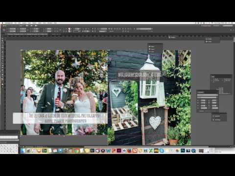 Indesign tutorial - quick start to creating a booklet