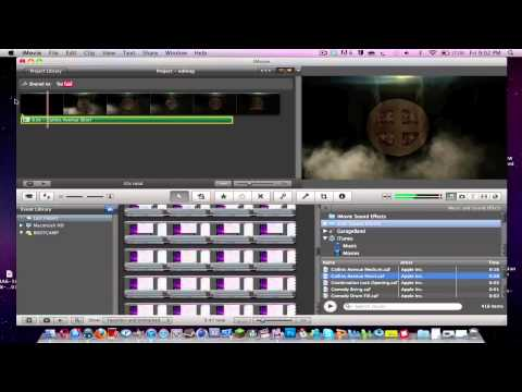 iMovie 11 - How to Add Music To Your Video!