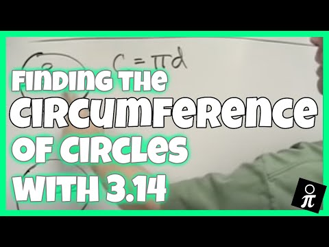 Finding circumference using 3.14