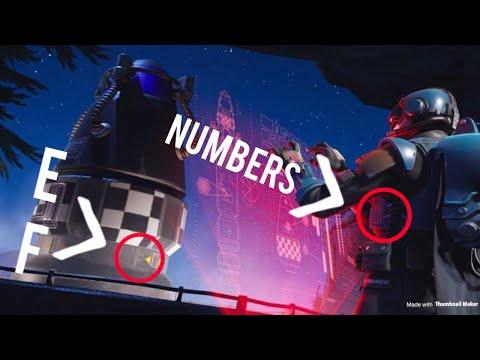 Week 8 Battle star location (Hidden coordinates in loading screen)