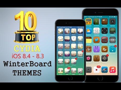 TOP 10 BRAND NEW Cydia WinterBoard Themes For iOS 8.4 / 8.3 / 8 / 7 - TaiG Jailbreak