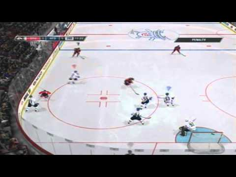 Game Misconduct in NHL 11