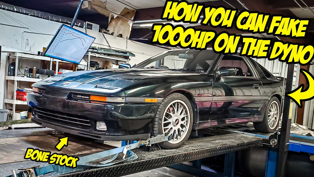 Here's How You Can FAKE 1000HP On A Dyno (With A BONE STOCK Car)