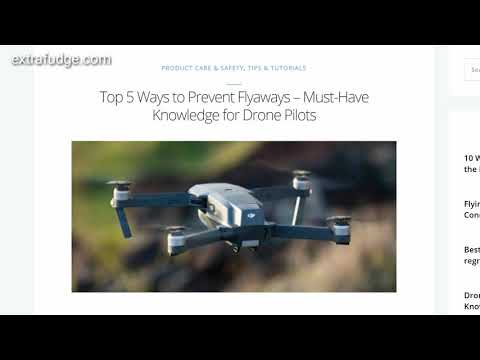 Why is DJI wrong about compass flyaway