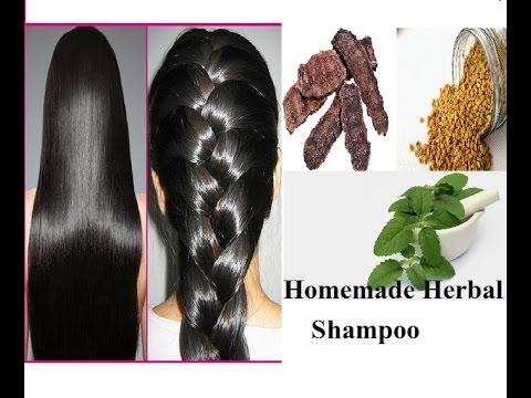 How To Get Long Hair, Soft Hair, Smooth Hair, Healthy Hair in 7 Days !! Homemade Herbal Shampoo