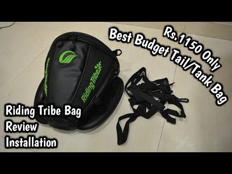 Best Budget Tank Bag ₹1,100 only | Riding Tribe Tail Bag from Banggood