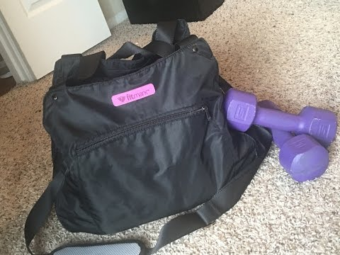 What's In My Gymbag? - Fitmark Bag Review
