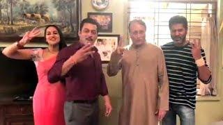 Dabangg 3 Shooting Video Salman Khan, Sonakshi Sinha