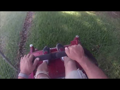 Mowing With GoPro Head Mount June 4th 2016