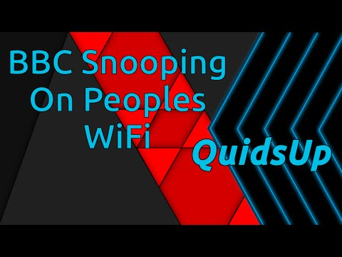 My Thoughts on BBC Snooping on Peoples WiFi