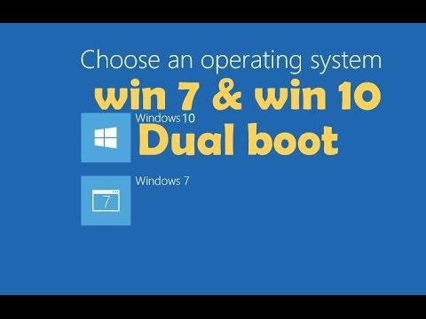 how to dual boot windows 7 and windows 10 | একই পিসিতে চালান একাধিক উইন্ডোজ (ডুয়েল বুট)