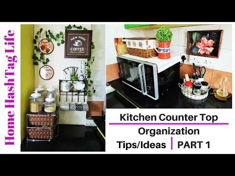 Indian Kitchen Organization - Countertop Organization Ideas! Home HashTag Life