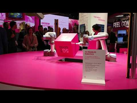 T-Mobile 5G Demo in Factory Automation | MWC 2017 - iPhone Hacks