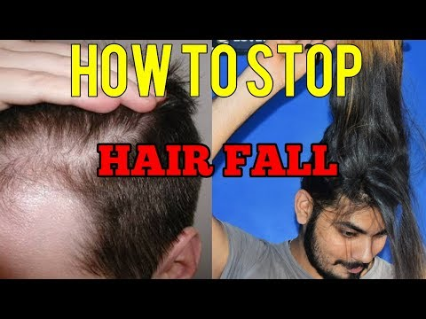2017 - Ultimate Guide To Stop Hair Fall | How to stop hair fall & hair Thinning | Homemade Treatment