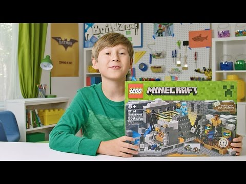 Minecraft - End Portal - LEGO Build Zone - Season 4 Episode 2