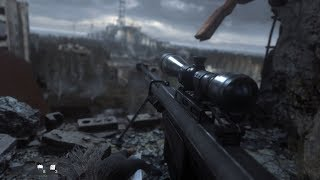 One Shot, One Kill ! Beautiful Sniper Mission from Call of Duty Modern Warfare Remastered